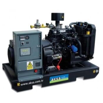 Generator de curent (Grup electrogen) pe gaz AKSA AGM 25, 22 KVA