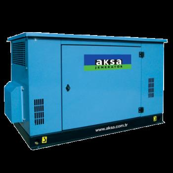 Generator curent (Grup electrogen) pe gaz AKSA ABG 10, 8kVA