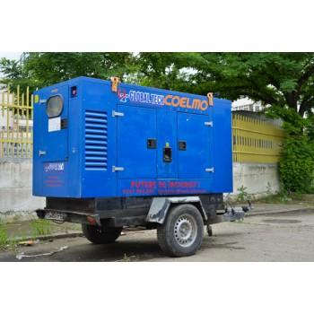 Generator de curent mobil insonorizat second hand FDT2-IT SH, 40KVA