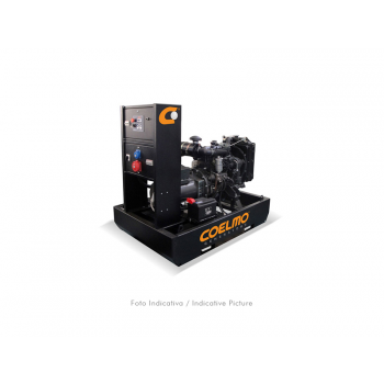 Generator de curent (Grup electrogen) COELMO FDT45SM3-08-ne, 80KVA