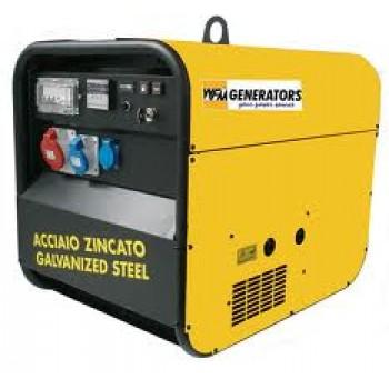 Generator curent monofazat WFM SP7500-DSEA, 6.4 KVA