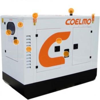 Generator curent (Grup electrogen) COELMO TEL 6.5-48GV, 6.5Kw