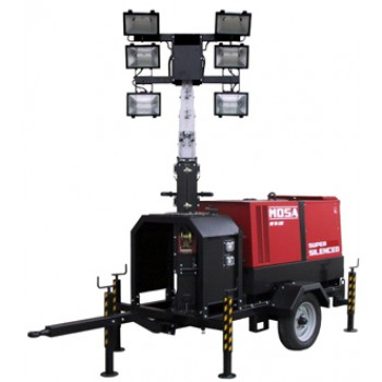Turn de iluminat BCS by MOSA,TFMM9-6 cu platforma stabilizatoare