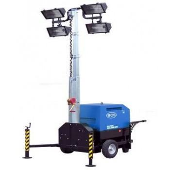 Turn de iluminat BCS by MOSA,TFMM9 cu platforma stabilizatoare